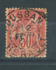 VEND N° 98 , CACHET A : POUSSAN ( 33 ) - 1876-1898 Sage (Type II)