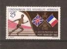 NOUVELLES HEBRIDES 1969 N° 282 Neuf** Sujet : 3 ème Jeux Sportifs En  Papouasie  (cote Inconnue) - Nouvelles-Hébrides