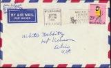 AUSTRALIA 1966 COVER To USA [D8522] - 1966-79 Elizabeth II