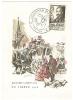 VEND CARTE MAXIMUM , JOURNEE DU TIMBRE , PARIS 6-3-1946 (b) - Cartas Máxima