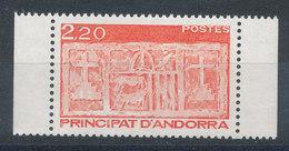 Andorre N°357** Ecu Des Vallées - Andorre Français
