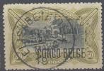 Nr 35L   AFGEST.  MU  OBLIT  ELISABETHVILLE [E11] ONTBREKENDE CIJFERS NA 19 - 1894-1923 Mols: Used