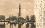 Détroit : Waterworks, Showing Tower, 1906. Dos Simple. 2 Scans. - Detroit