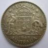 Australie Australia Florin 1945 Km 40 - Monnaie Pré-décimale (1910-1965)