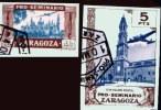 Espagne 1945 Séminaire De Saragosse (Zaragova) - Non Dentelé - 1931-Aujourd'hui: II. République - ....Juan Carlos I
