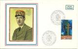 """CDG 32 """" Mémorial De Colombey Les Deux Eglises """" Premier Jour 18 JUIN 1977 - De Gaulle (Général)"""