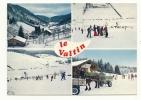 Le Valtin (88) : 4 Vues En Hiver Dont Atttelage De Chevaux Et Départ Du Ski En 1984 (animée). - Frankrijk