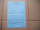 Document Vierge - Compagnie Continentale Des Compteurs CCC A Colombes ---------------------3521 - Vieux Papiers