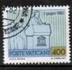 VATICAN   Scott #  701  VF USED - Vaticano (Ciudad Del)