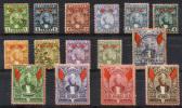 ZANZIBAR 1896 (wmk Rosette) - Mi.25-39 (Yv.27-41, Sc.38-52) Mix (all VF) - Zanzibar (...-1963)