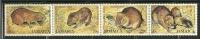 "Jamaica        ""Indian Coney""     Set  (strip Of 4)   SC# 499  MNH** - Jamaica (1962-...)"