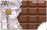 TARJETA DE SUIZA DE CHOCOLATE (CHOCOLAT) - Publicidad