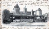 23 - Creuse - Bourganeuf - Tour De Zizim - Oblitération + Timbre 1901 - Bourganeuf