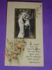 Bouasse Jeune Paris France - N°12020 - Gesù E Maria- Santino Monocromo  Applicato Su Pergamena - Images Religieuses