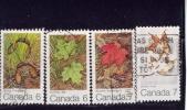 CANADA , 1971, USED, # 535-8, MAPLE LEAF 4 SEASONS - 1952-.... Règne D'Elizabeth II