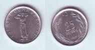 Turkey 25 Kurus 1968 - Turquie