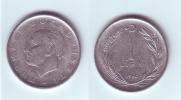 Turkey 1 Lira 1960 - Turquie