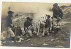 CARTE-PHOTO MILITAIRE - CHASSEURS ALPINS - Regiments