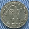 1971  - Afrique -   Union  Ouest  Africaine  -  Pièce De 100 Francs - - Otros – Africa