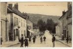 Carte Postale Ancienne Plombières Les Dijon - Rue De La Levée - Frankreich