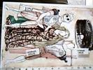 VERONA  70° MAN FILATELICA  ILLUSTRATA  NANI TEDESCHI  OMAGGIO A DE CHIRICO X 100 NASCITA N1988 DL1047 - Borse E Saloni Del Collezionismo