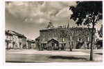 ALBAN - Place Des Tilleuls- Pods Public - Cpsm Noir Et Blanc -écrite 1952-PAYPAL SANS FRAIS - Alban