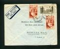=*= 778+792x2 Sur Lettre Par Avion Paris Observatoire>>>>U.S.A. Mars 1948 =*= - France