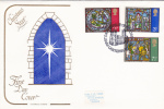 First Day Cover - Commemorative - Great Britain - Christmas Star Cotswold Covers - 1952-1971 Em. Prédécimales