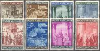 1949 Anno Santo No 132-9/ Mi 163-70 / Sc 132-9 / Y&T 150-7 Nuovo/neuf Sans Charniere/MNH [hap] - Unused Stamps