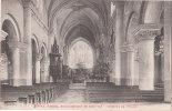 Cpa Des Vosges - Etival - Arrondissement De St Dié - Intérieure De L'Eglise - Etival Clairefontaine