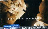 CARTE VIDEO FUTUR....CARTE BONUS.....  BATMAN BEGINS..... VOIR SCANNER - Sonstige