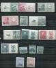 Czechoslovakia 1938 Mi 387-405 MNH/MH Complete Year(-2 Stamps)+Blocks - Czechoslovakia