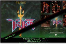 Triniton - Sangre Y Sudor - Von 1985 - Neue LP - 100 % Brand News - Hard Rock & Metal