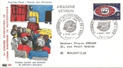 Env Fdc France, 4/3/67 Paris, N°1515,radiodiffusion éducative, écoliers,support Publicitaire Arginine Veyron... - 1960-1969