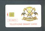 UGANDA  -  Chip Phonecard As Scan - Ouganda