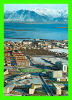REYKJAVIK, ICELAND - AERIAL VIEW, ITS HARBOUR WITH MT. ESJA IN THE BACK GROUND - LITBRA H.F. - - Islande