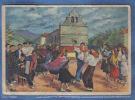 Carte Postale Homualk  Bidarray  La Danse Du Fandango  Trés Beau Plan - Homualk
