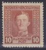 OOSTENRIJK - Briefmarken - 1917 - Nr 127 (Bosnie-Herzegowina) - MNH** - Levant Autrichien