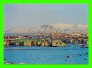 REYKJAVIK, ICELAND - VIEW ON THE CITY - PHOTO SNORRI SNORRASON - - Islande