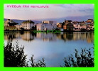 REYKJAVIK, ICELAND - ROMANTIC NIGHT BY THE LAKE - PHOTO, KRISTINN SIGURJONSSON - - Islande