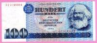 ALEMANIA GERMANY DEUTSCHLAND   - RDA / GDR / DDR  **  100 Mark / Marcos 1975  **  PICK31 A - [ 6] 1949-1990 : RDA - Rep. Dem. Alemana