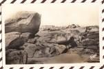 U1164 BRIGNOGAN LES ROCHERS DE LA COTE SAUVAGE 1950 2 SCANS - Brignogan-Plage