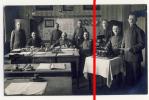 PostCard - Zwickau - Originalfoto - Ca. 1910 - Soldaten - Büro - Uniformen - Verwaltung - Militär - Zwickau