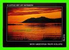 ICELAND - A LITTLE OF SUNSHINE IN SUMMER IN EYJAFJORDUR - LITBRA H.F. - - Islande