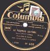 78 Tours - Columbia DF 408 - Scènes Militaires Comiques - MM. MARC-HELY & CAMUS - LA CHAMBREE - 78 T - Disques Pour Gramophone
