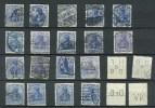 Allemagne - Empire Mi No 87 Oblitérés Et Qlqs Perforés, Très Propres, Voir Oblitérations Et Nuances Couleur - Gebraucht