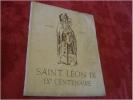 Saint Léon IX Centenaire De La Mort Du Pape Alsatia Colmar 1954 - Religion