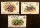 SEYCHELLES Iles Eloignées: Grenouille + Reptiles (Emis En 1981). Neuf Sans Charniere ** MNH - Reptiles & Batraciens