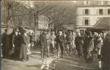 68 - THANN - Carte Photo N° 1 De La Visite De M. CLEMENCEAU, Résident Du Conseil - Thann