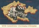 1938 - POSTKARTE - WIR DANKEN UNSERM FÜHRER - Personnages